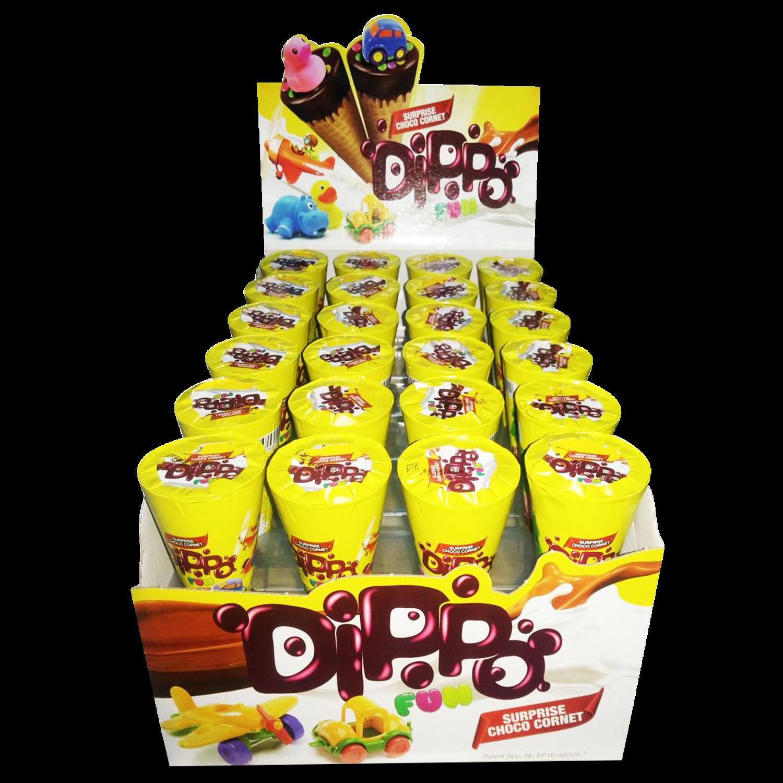 Dippo Fun  Choco Cornet