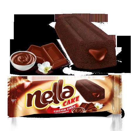 Nella Chocolate Sauce Filled Cake Cocoa