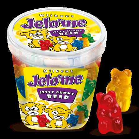 Jelo'me Meyve Aromalı Ayıcık Şekilli Jel Şeker