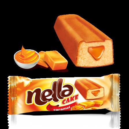 Nella Caramel Sauce Filled Cake Cocoa