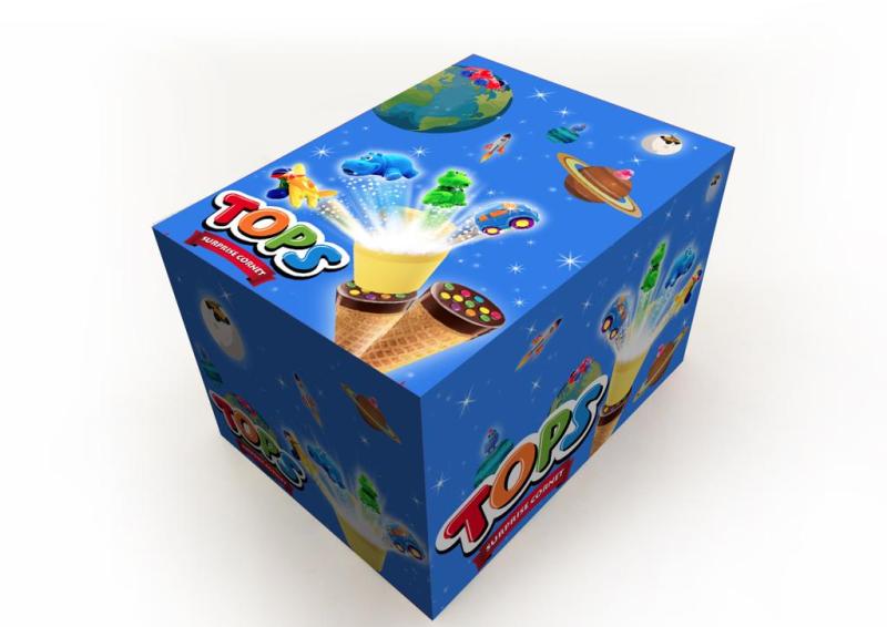 Tops Surprise Choco Cornet